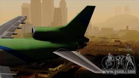 Lockheed L-1011 TriStar Arrow Air Cargo for GTA San Andreas back left view
