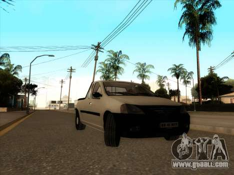 Dacia Logan Pick-up Necarosat for GTA San Andreas left view