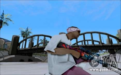 AWP Hyper Beast for GTA San Andreas third screenshot
