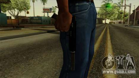 AP Pistol with Supressor for GTA San Andreas third screenshot