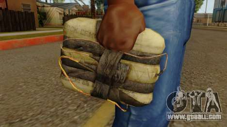 Original HD Satchel for GTA San Andreas third screenshot