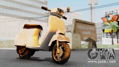 New Faggio for GTA San Andreas