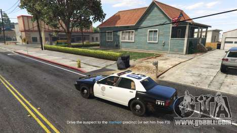 GTA 5 Arrest Peds V (Police mech and cuffs) fourth screenshot
