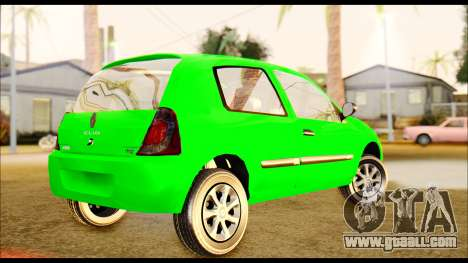 Renault Clio Mio for GTA San Andreas left view