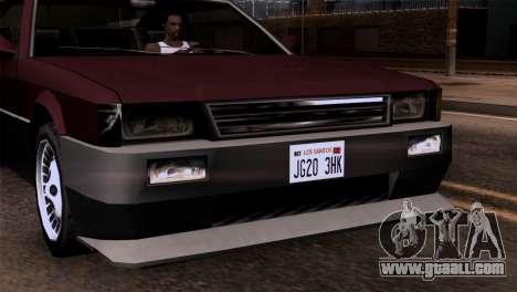 New headlights for GTA San Andreas third screenshot