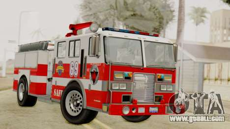 MTL SAFD Firetruck for GTA San Andreas