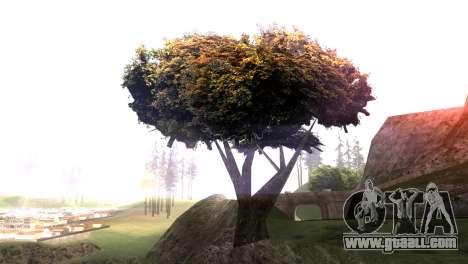 Vegetation Original Quality v3 for GTA San Andreas second screenshot