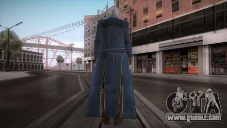 New Vergil from DMC for GTA San Andreas second screenshot