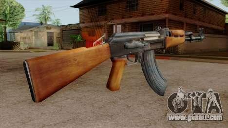 Original HD AK-47 for GTA San Andreas third screenshot
