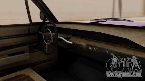 GTA 5 Declasse Voodoo Worn for GTA San Andreas right view