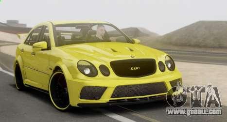 Mercedes-Benz E63 Qart Tuning for GTA San Andreas
