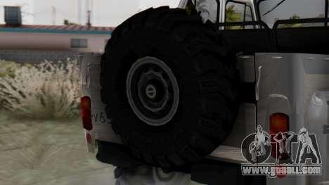 УАЗ 469 Ivan Braginsky for GTA San Andreas back left view