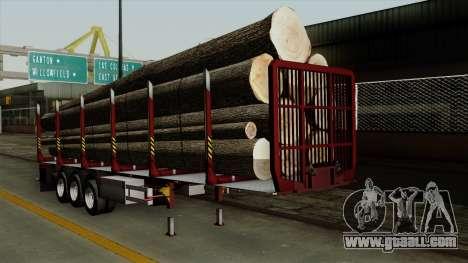 Trailer Fliegl v1 for GTA San Andreas