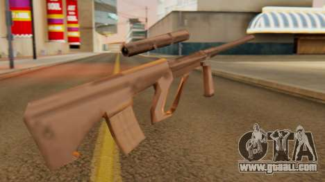 Steyr AUG from GTA VC Beta for GTA San Andreas second screenshot