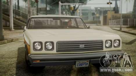 GTA 5 Dundreary Regina IVF for GTA San Andreas right view