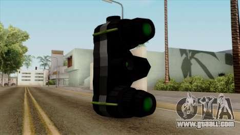 Original HD Thermal Goggles for GTA San Andreas