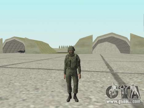 Pak fighters of special troops of GRU for GTA San Andreas eleventh screenshot