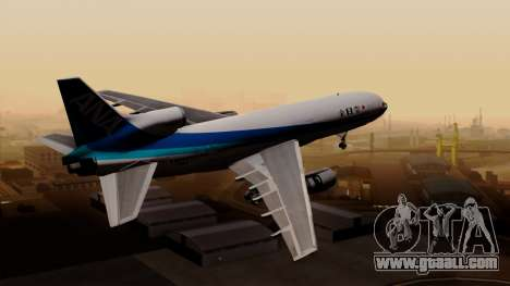 Lockheed L-1011 TriStar All Nippon Airways for GTA San Andreas left view