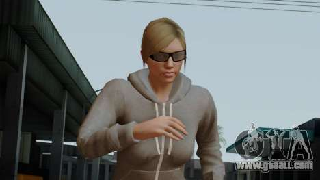 GTA 5 Online Female02 for GTA San Andreas