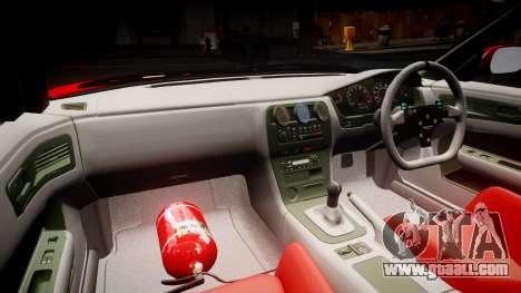 Nissan Silvia S14 Koni for GTA 4 back view