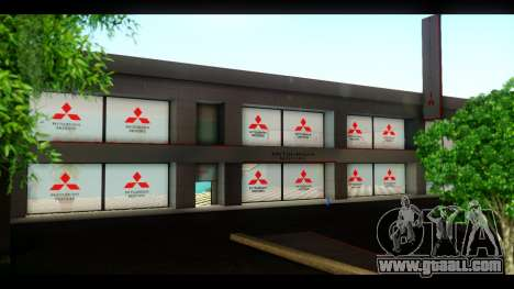 The Mitsubishi Motors Dealership for GTA San Andreas