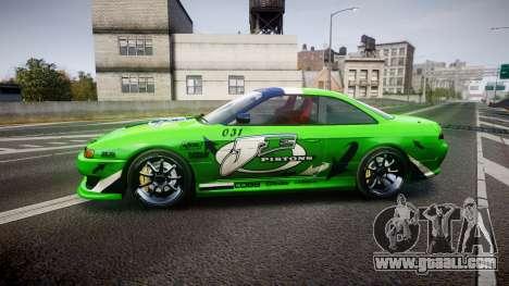 Nissan Silvia S14 JE Pistons for GTA 4 left view