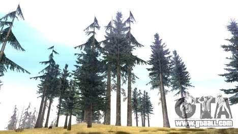 Vegetation Original Quality v3 for GTA San Andreas third screenshot