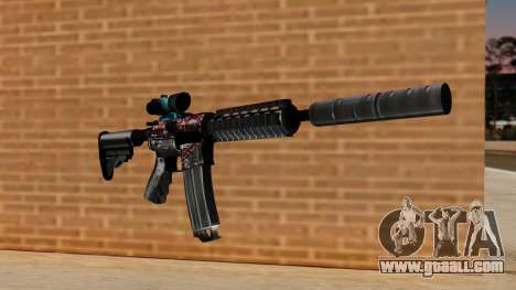M4A1 UASS for GTA San Andreas
