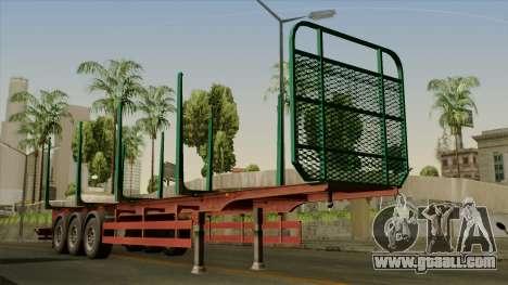 Trailer Cargos ETS2 New v1 for GTA San Andreas