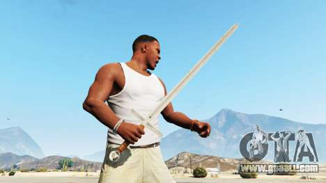 GTA 5 Sword Excalibur