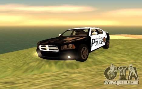 Dodge Charger Super Bee 2008 Vice City Police for GTA San Andreas