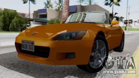 Honda S2000 Fast and Furious for GTA San Andreas