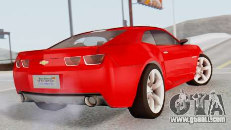 NFS Carbon Chevrolet Camaro for GTA San Andreas left view
