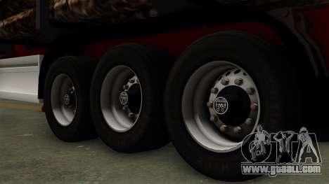 Trailer Fliegl v2 for GTA San Andreas back left view