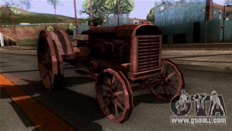 GTA 5 Rusty Tractor for GTA San Andreas