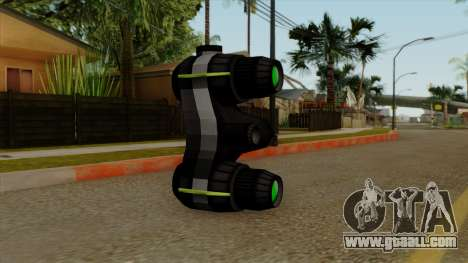 Original HD NV Goggles for GTA San Andreas