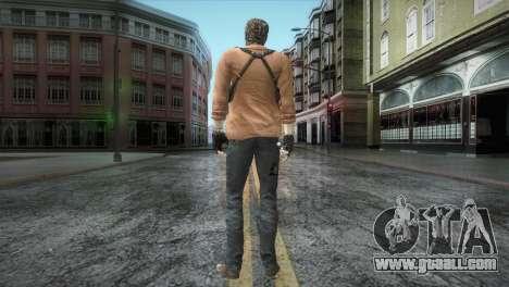 New Jhon Albert Wesker from Resident Evil for GTA San Andreas third screenshot