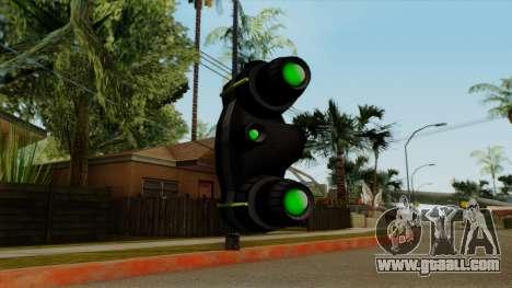 Original HD NV Goggles for GTA San Andreas third screenshot