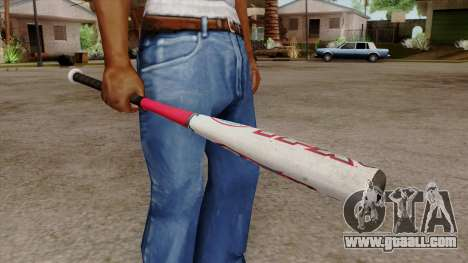 Original HD Bat for GTA San Andreas second screenshot
