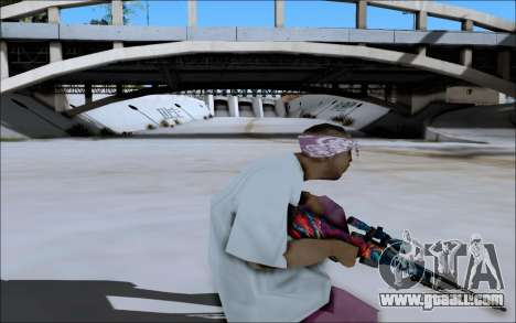 AWP Hyper Beast for GTA San Andreas forth screenshot