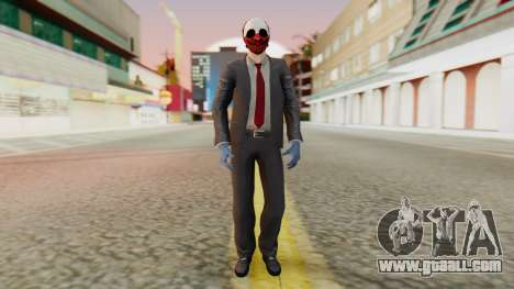 [PayDay2] Wolf for GTA San Andreas second screenshot