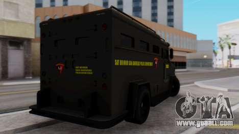 GTA 5 Enforcer Indonesian Police Type 2 for GTA San Andreas left view