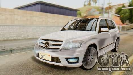 Mercedes-Benz GLK320 2012 for GTA San Andreas