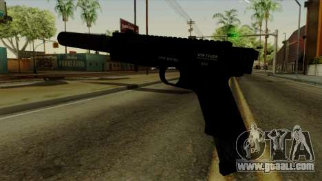 AP Pistol with Supressor for GTA San Andreas second screenshot
