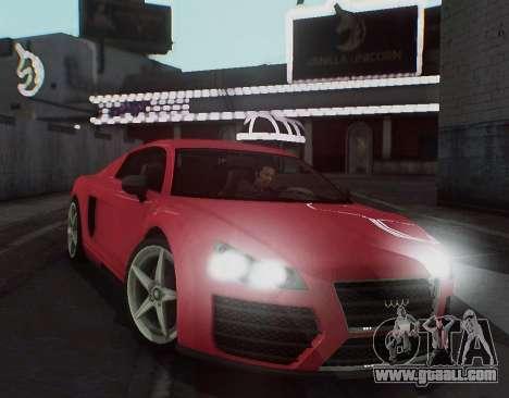 Herp ENB v1.6 for GTA San Andreas forth screenshot