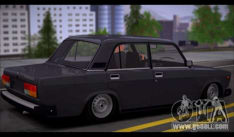 VAZ 2107 Runoff Quality for GTA San Andreas right view