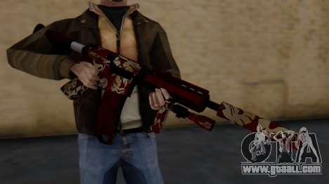 M4A1 Royal Dragon for GTA San Andreas third screenshot
