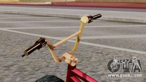 Monster BMX for GTA San Andreas right view