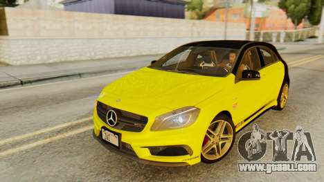 Mercedes-Benz A45 AMG 2012 PJ for GTA San Andreas interior