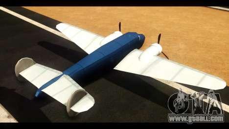 Bomber v1.0 for GTA San Andreas back left view